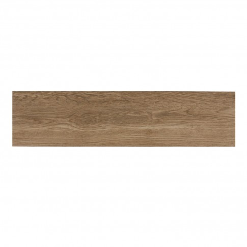 Gresie exterior / interior portelanata rectificata 9259 Olive maro, mata, antiderapanta, imitatie lemn, 15 x 60 cm