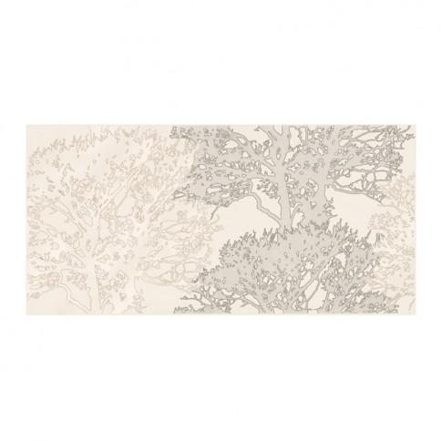 Decor faianta baie / bucatarie Ellisa Tree MD009-009, model copac, bej, 29 x 59.3 cm