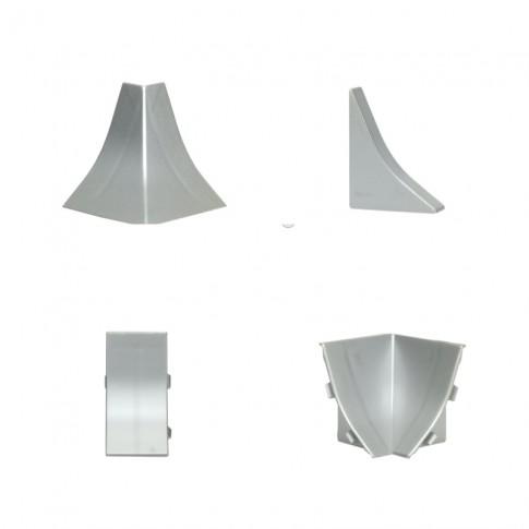 Set accesorii profil inaltator PVC PP15 gri