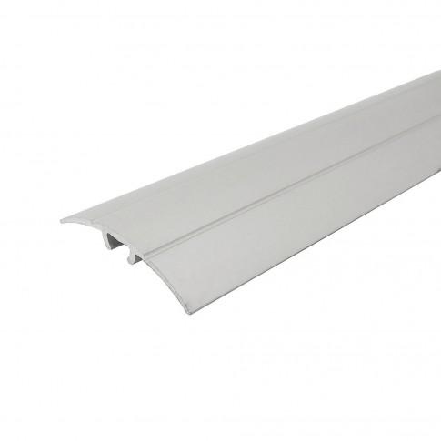 Profil aluminiu de trecere, Profiline, suruburi ascunse, argintiu 0.9 m