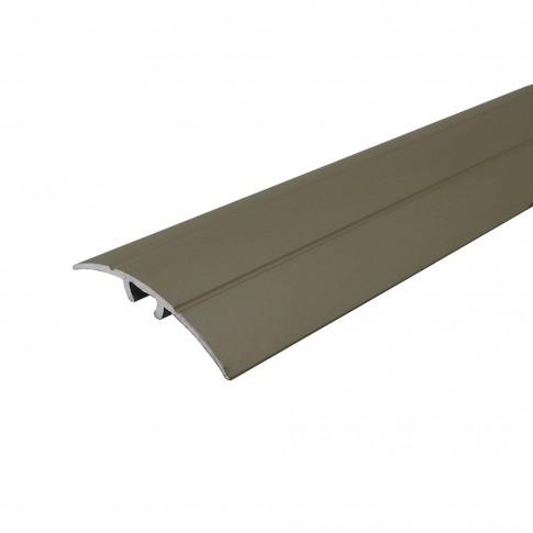 Profil aluminiu de trecere, Profiline, suruburi ascunse, olive, 0.9 m