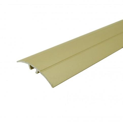 Profil aluminiu de trecere, Profiline, suruburi ascunse, auriu, 2.7 m