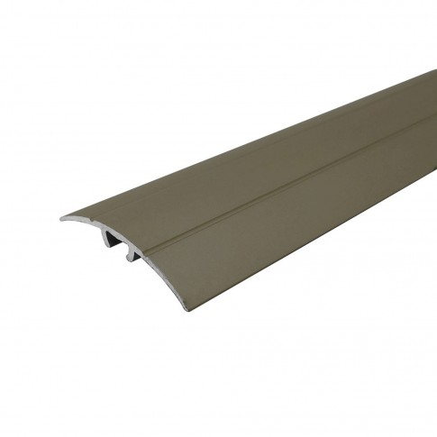 Profil aluminiu de trecere, Profiline, suruburi ascunse, olive, 2.7 m
