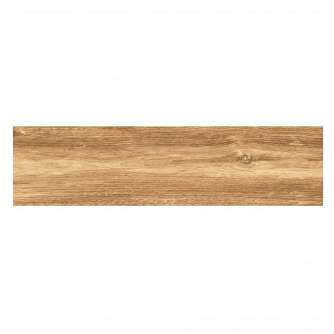 Gresie exterior / interior portelanata 9260 Bellagio bej, mata, antiderapanta, imitatie lemn, 15.5 x 60.5 cm