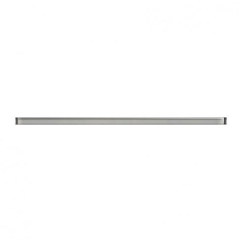 Brau faianta Glass Silver Border New, lucios, argintiu, 2 x 60 cm