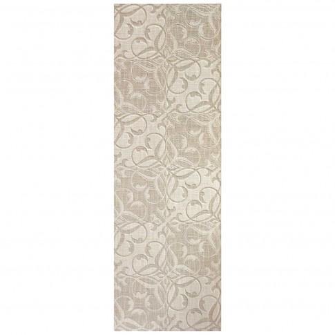 Decor faianta Hermes Floral rectificat bej mat 30 x 90 cm