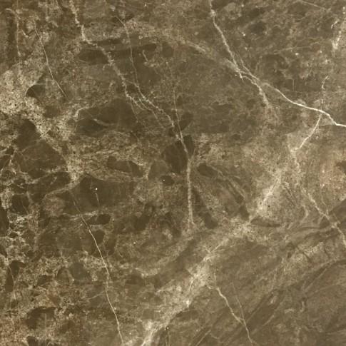 Gresie exterior / interior portelanata Milas rectificata lucioasa maro 60 x 60 cm