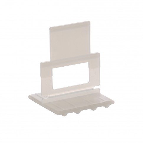 Clips sistem aliniere plana placi ceramice, rost 1 mm, grosime placa 6-12 mm (50 buc)