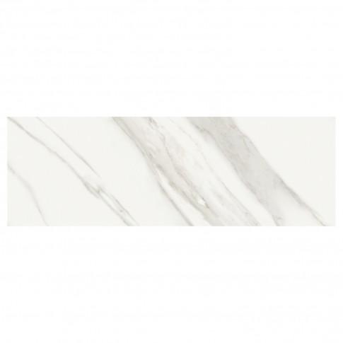 Faianta baie / bucatarie Atlas Eu, alba, lucioasa, 28.5 x 85.5 cm