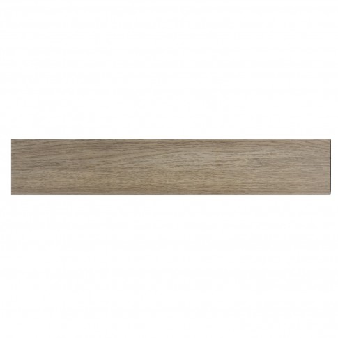 Plinta gresie portelanata Woodstyle, mata, maro deschis, 8 x 45 cm
