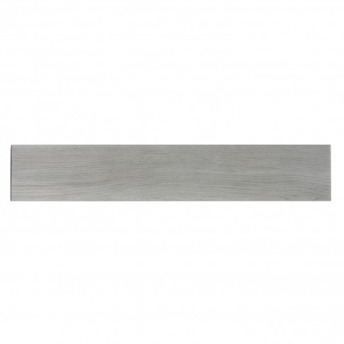 Plinta gresie portelanata Woodstyle, mata, gri, 8 x 45 cm