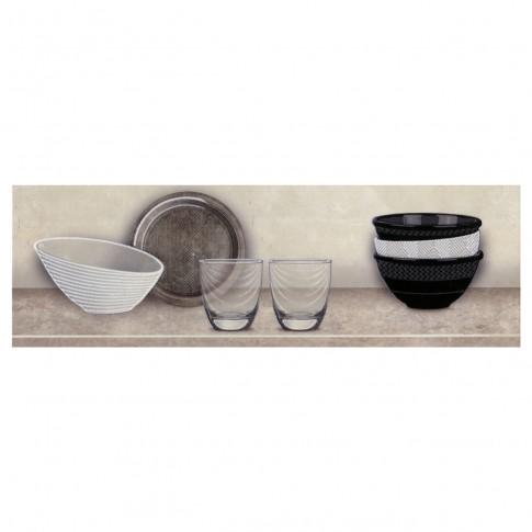 Decor faianta bucatarie Cantera Cocina Sand (A) bej, mat, 20 x 60 cm
