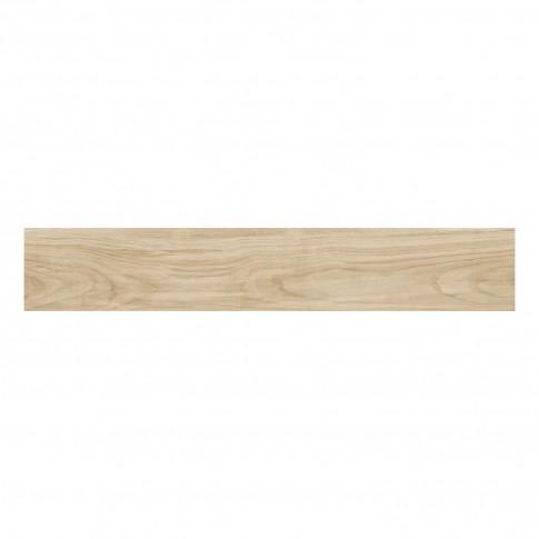 Gresie exterior / interior portelanata Iberica Beige 9436, mata, bej, imitatie lemn, 20.4 x 120.4 cm