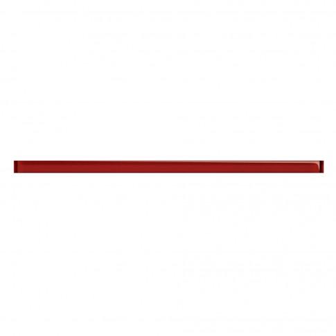 Brau faianta Glass Red, lucios, rosu, 3 x 75 cm