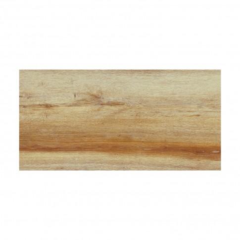 Gresie exterior / interior portelanata Nord Oak mata maro tip parchet 30 x 60 cm