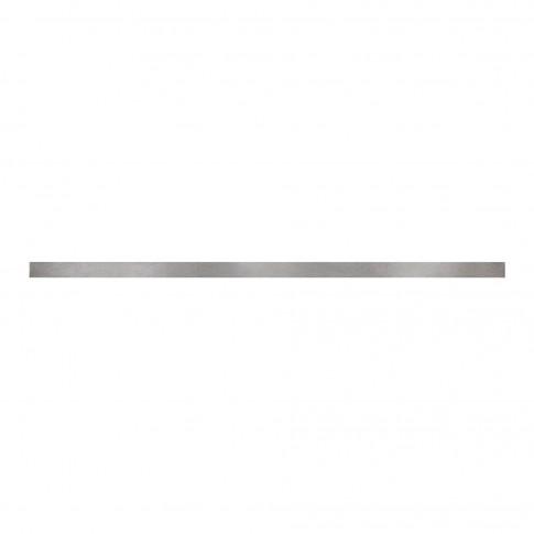 Brau pentru faianta Cersanit Bianca WD345-008, argintiu, 2 x 60 cm