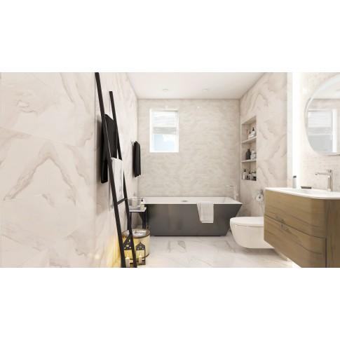 Mozaic ceramic Marble Charm OD985-005, alb, 29 x 29 cm