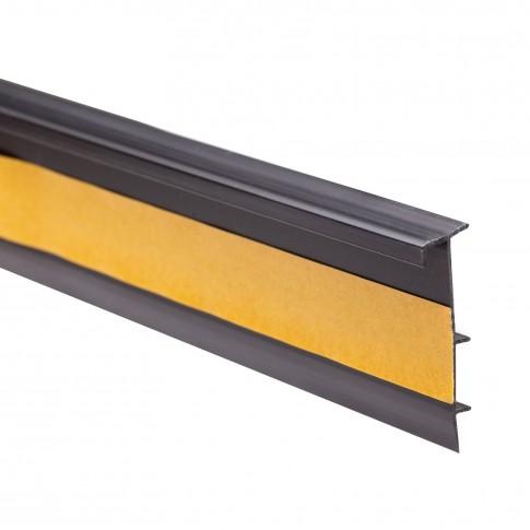 Plinta mocheta canal cablu SET 25474-111 neagra 2.5 m