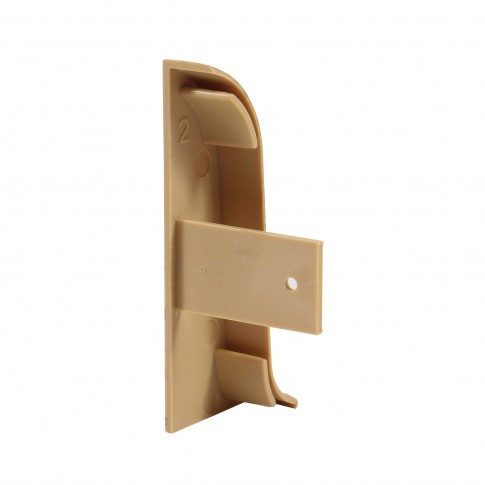 Terminatie pentru plinta, stanga / dreapta, Vilo Flex 521, PVC, stejar antic, 55 x 22 mm, 2 buc / set