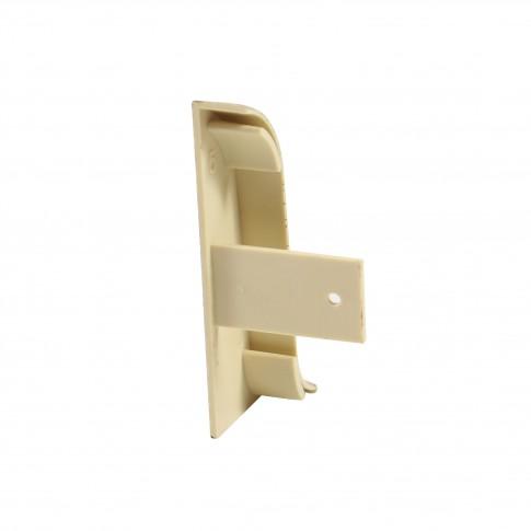 Terminatie pentru plinta, stanga / dreapta, Vilo Flex 552, PVC, salcam, 55 x 22 mm, 2 buc / set