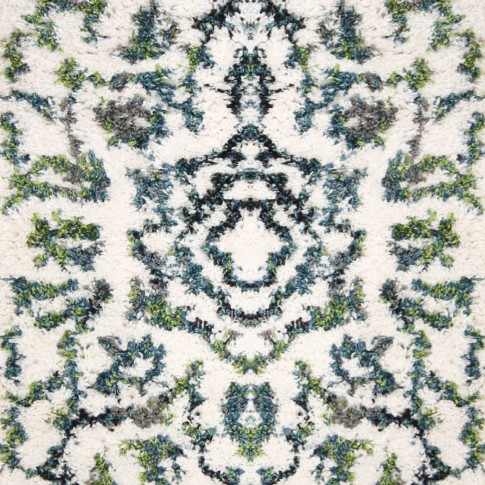 Covor living / dormitor Oriental Weavers Aster Shag W 2605/KK8 poliester + polipropilena frize multicolor 133 x 190 cm