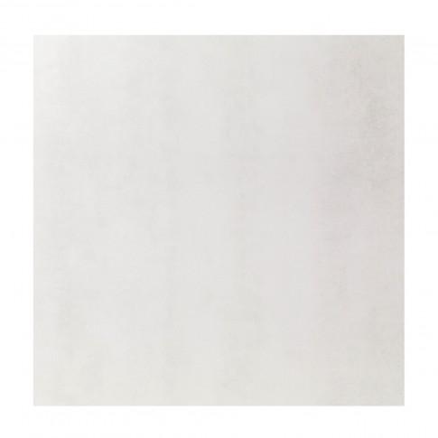 Gresie exterior / interior portelanata rectificata Traffic alba, mata, 60 x 60 cm