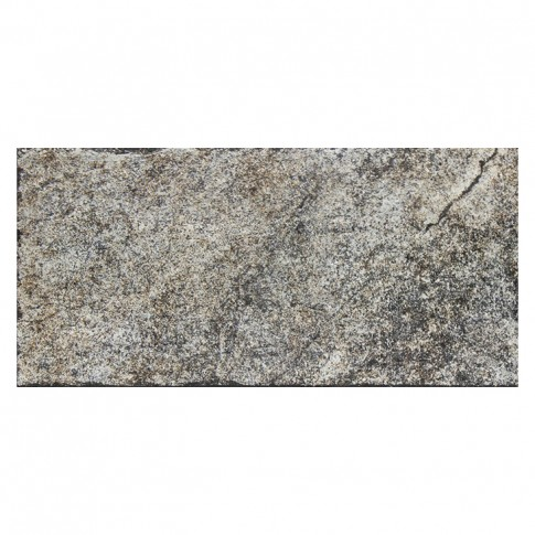 Placa soclu exterior / interior Atica, mata, gri, 15.4 x 31 cm