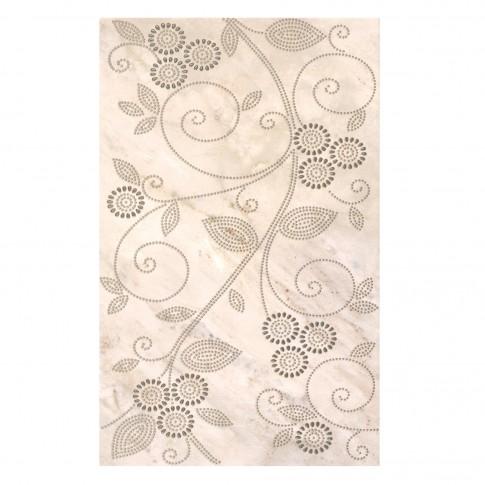 Decor faianta baie / bucatarie 2642-0475 Veins, bej, lucios, 25.2 x 40.2 cm