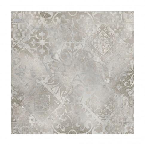 Gresie decor exterior / interior Ellesmere, portelanata, rectificata, semilucioasa, gri, 60 x 60 cm