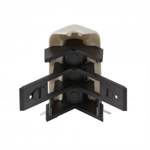 Colt exterior pentru plinta SET 10456-6014 Milas 52 x 60 mm 2 buc/set