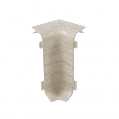Colt interior pentru plinta Set 10456-6014 milas 52 x 27 mm 4 buc/set