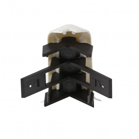 Colt exterior pentru plinta SET 10456-6015 mercur 52 x 60 mm 2 buc/set