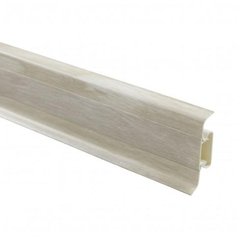 Plinta parchet PVC 10456-6014 canal milas 2500 x 52 x 22 mm