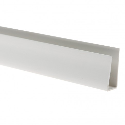 Profil de finisare Vilo 012, PVC, alb, 3 m