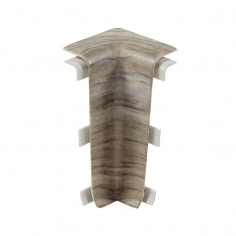 Colt interior pentru plinta Vilo Esquero 610, stejar ghinda, 66.6 x 21.9 mm, 2 buc / set