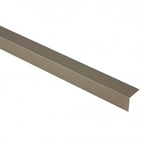 Profil aluminiu pentru protectia colturilor, Profiline, olive, 20 x 2000 mm