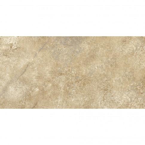 Gresie exterior / interior portelanata, Cesarom Caucaso 6060-0133, mata, antiderapanta, bej,  30 x 60 cm