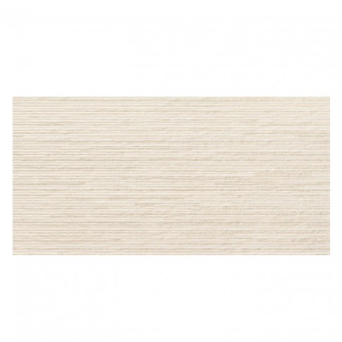 Faianta decor baie / bucatarie Urano Lineal Ivory, rectificata, mata, bej, 30 x 60 cm