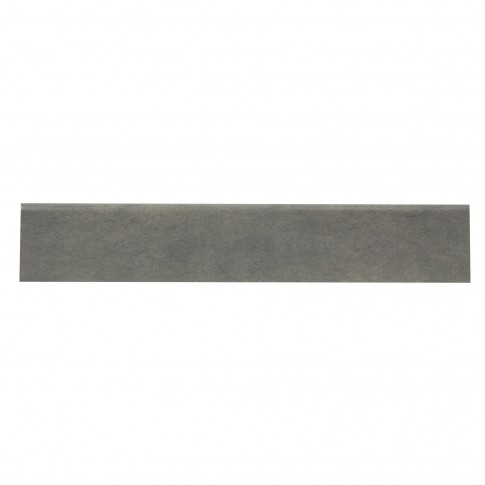 Plinta gresie portelanata Elegante, mata, gri, 8 x 45 cm
