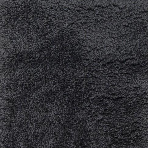 Covor living / dormitor Chip microfibra H242A poliester dreptunghiular gri antracit 80 x 150 cm