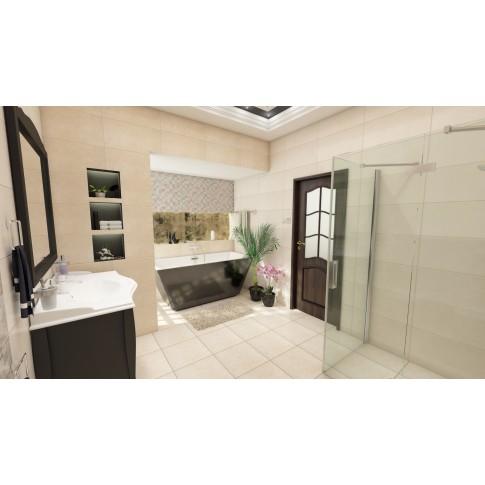 Faianta baie / bucatarie Gard Marfil, bej, mata, 31 x 60 cm