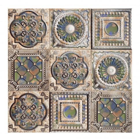 Faianta baie / bucatarie Anticatto, multicolor, satinata, 20 x 20 cm