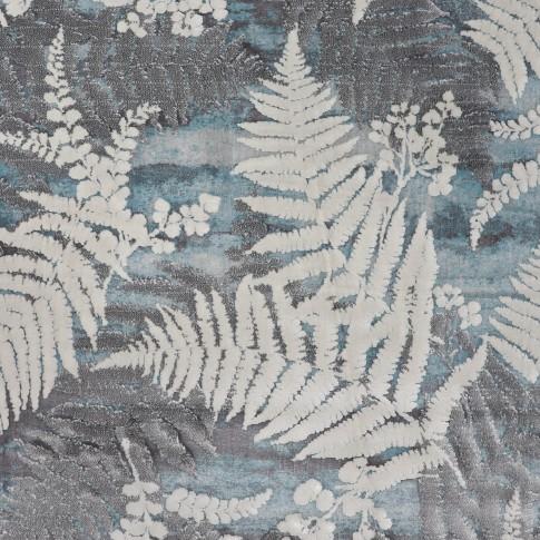 Covor living / dormitor Oriental Weavers Berlino L 1908/NO1, poliolefina + poliester, dreptunghiular, verde + gri, 200 x 285 cm