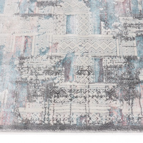 Covor living / dormitor Oriental Weavers Berlino X 2903/NO1, poliolefina + poliester, dreptunghiular, multicolor, 120 x 170 cm