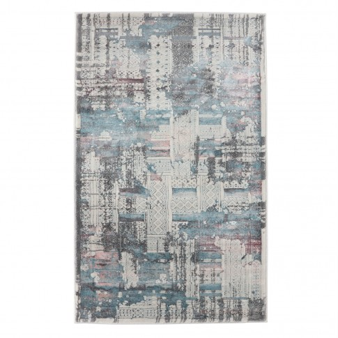 Covor living / dormitor Oriental Weavers Berlino X 2903/NO1, poliolefina + poliester, dreptunghiular, multicolor, 200 x 285 cm