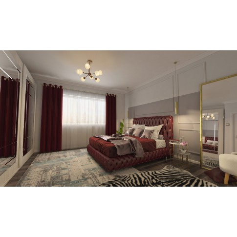 Covor living / dormitor Oriental Weavers Berlino X 2903/NO1, poliolefina + poliester, dreptunghiular, multicolor, 160 x 235 cm