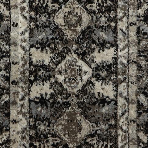 Covor living / dormitor Oriental Weavers Ferrera K 284/EC9, polipropilena heat-set, bej + negru, 160 x 235 cm