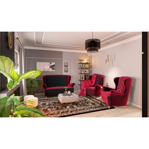 Covor living / dormitor Oriental Weavers Ferrera K 284/EC9, polipropilena heat-set, bej + negru, 60 x 110 cm