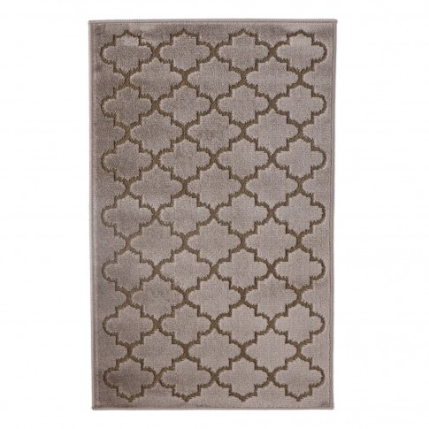 Covor living / dormitor Oriental Weavers Iconic D 30/PH9, poliolefina, dreptunghiular, maro, 200 x 285 cm