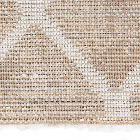 Covor living / dormitor Oriental Weavers Ivora Shag J 3071/PD9 J, poliester + polipropilena, dreptunghiular, crem, 200 x 285 cm